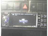 ,Meos 7 inch touchscreen car cd/dvd/sd/aux/Bluetooth/satnav