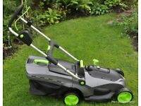 Gtech Falcon Cordless Lawnmower - Brand New/Unused