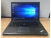 Lenovo Thinkpad X240 Laptop, Super Fast Latest model, i3 CPU, 500GB Harddisk 4GB RAM, Mint Condition