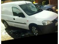 Vauxhall combo 1.7dcti 2002