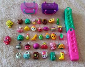 Shopkins Figures Season 3 and 4 with Baskets, Collectable Toys