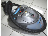 Polti Lecoaspira Turbo & Allergy Steam Cleaner Vacuum Cleaner Machine with Fault on steam