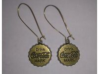 Vintage Coca Cola Earrings
