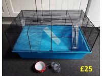 Large Blue lovely Hamster Cage