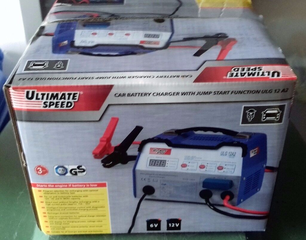 New Ultimate Speed Car Battery Charger With Jump Start
