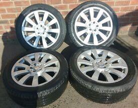 Mercedes GLK Set of Alloy Rims + Tyres