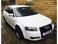 Audi A3 s line 2.0 tdi Engine replaced 12 month Mot full leather alloys warranty px cheapest on net