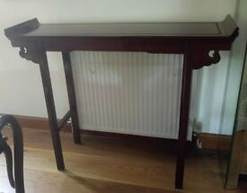 BEAUTIFUL ROSE WOOD VINTAGE CHINESE ALTER TABLE
