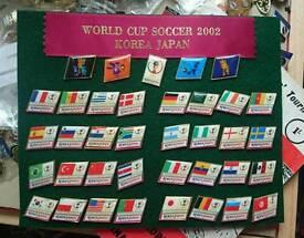 Set of World Cup 2002 Badges
