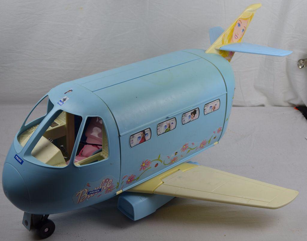 Vintage Barbie Aeroplane Airplane Mattel Toy Plane Jet