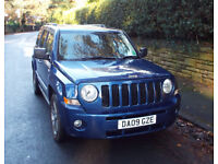 2009 Jeep Patriot Limited CRD 112K Miles 2 Owners MOT Sept 2018
