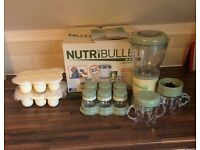 Nutribullet baby in excellent condition some parts never used