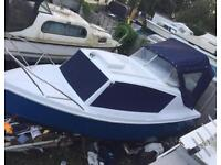 Boat Cabin cruiser fairlibe 19 with Tohatsu 20 four stroke