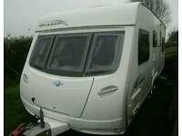 2009 Lunar Quasar 616 Triple bunk 6 berth Twin Axle caravan