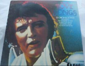 Elvis Presley – Elvis Love Songs (20 Original Songs) Vinyl Album K-Tel – NE 1062