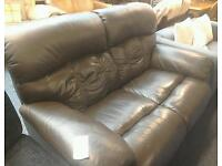 2 Seater reclining sofa #23376 £99
