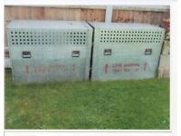 Dog runs and ex military dog cages