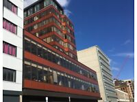 Fully serviced modern office suite in central Landsdown with flexible lease terms, 1 parking space.