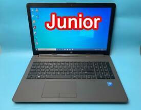 HP Super Quick 8GB 128GB SSD Slimline HD Laptop, Win 10, Microsoft office Excellent Condition