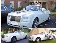 ***NEW*** FREE FREE FREE - Wedding Chauffeuring #RollsRoyceDrophead