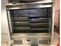 Dairy cabinet 2 m stainless steel (nearly new )