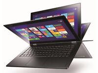 Lenovo Yoga 2 Pro touchscreen , i7 - 8GB - 256GB SSD . Windows 10 pro , office 2016