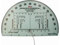 Military map reading protractor (Protactor RA Mils/Metres Mk1)