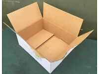 Large quantity of Cardboard Boxes 48cm x 18 x 39