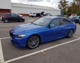 BMW 3 Series 2.0 Diesel M sports blue Automatic