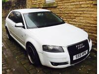 05 Audi A3 2.0 tdi sline full heated 18 inch bbs style alloys 12 month mot warranty cheapest in uk