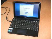 """Samsung NC110P Notebook 10.1"""" Atom N2600 1GB RAM 320GB HDD 1.6GHz Windows 7"""