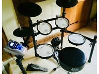 Roland electric drum kit with Roland amp