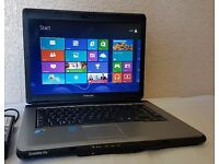 "Excellent Toshiba Satellite pro 15.6"" Laptop,Wifi/Webcam,Win 8,Office 2010+Original Charger"