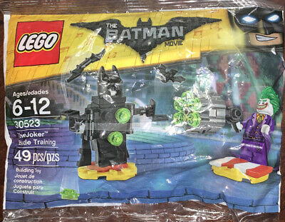 LEGO BATMAN MOVIE THE JOKER BATTLE TRAINING 30523 NEW POLYBAG 49 PIECES RETIRED