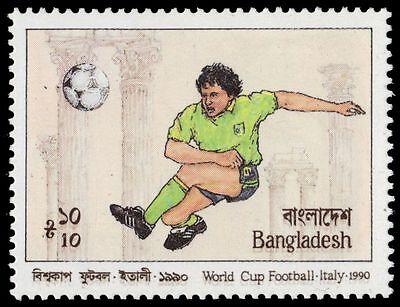 BANGLADESH 363 (SG351) - ITALIA '90 World Cup Football (pa50762)