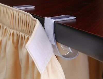 """1 1/2-2 1/4"""" Plastic Table Cloth Skirting Clip Wedding Banquet Party Home"""