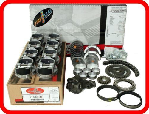 "2007-2009 Chevrolet Gmc Silverado Sierra 325 5.3l V8  Vin""b""  Engine Rebuild Kit"