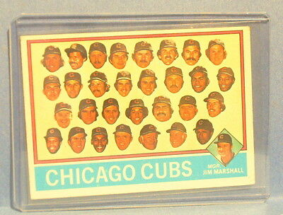1976 TOPPS BASEBALL CHICAGO CUBS TEAM CARD 277 CHECKLIST CLEAN UNMARKED