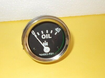 Ih Farmall Oil Pressure Gauge Fits Cub Cub Lo- Boy 0-40