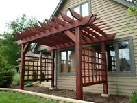Pergolas!!! Decks!!! Fences!!!
