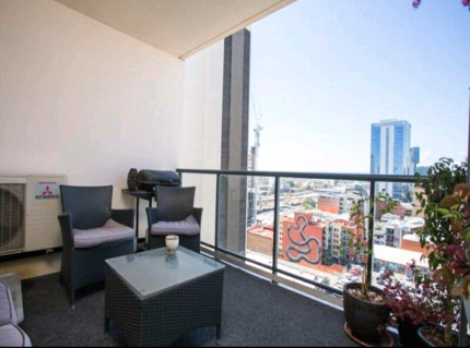 Only for a male) City apartment.