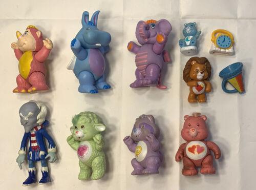 Vintage Care Bears Poseable Figures Lot 1984 Gummi Wuzzles Kenner Disney Cousins - $49.99