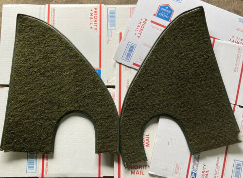 1967-1972 Chevy GMC Truck Carpeted Kick Panel Covers - Light Brown