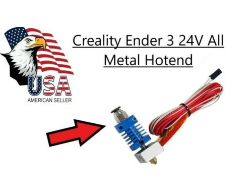 Creality Ender 3 24V Hotend Upgrade 40 WATTS !! 3D Printer upgrade USA