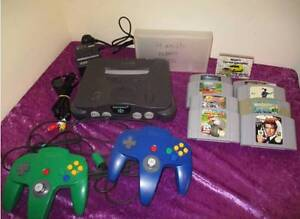 Nintendo 64 with 2 controllers 8 games Albany Albany Area Preview