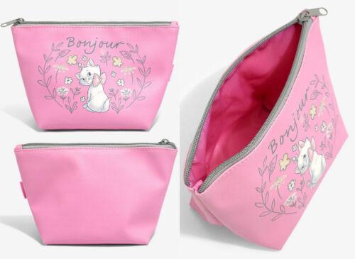 Disney The Aristocats Marie Bonjour Makeup Bag Cosmetic Bag Pink