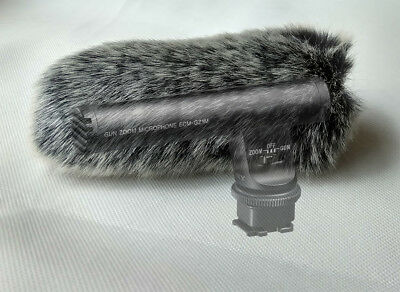 Furry Shotgun Microphone Windshield Windscreen WIND Muff for sony (Shotgun Microphone Windscreen)