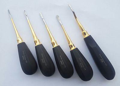 Dental Luxating Root Elevators 2345mm Str 77r Chisel Tip Tooth German