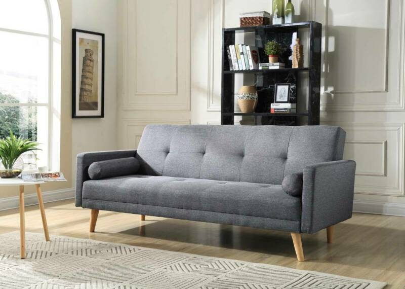 3 Seater Sofa Bed Mattress Futon Couch