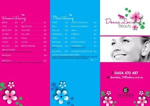 DONNA LOU BEAUTY - Ladies and Men's Waxing Rockingham Rockingham Area Preview